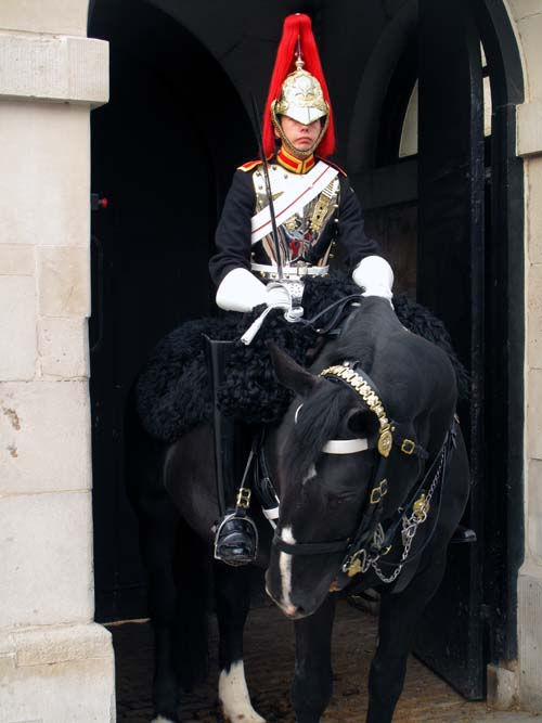 Changing of the Guard at the Horse Guards Parade London