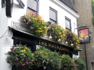 London, Rotherhithe Village – Mayflower Pub