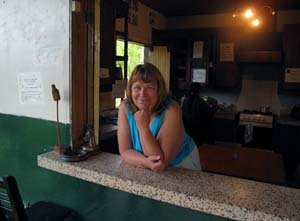 Sandra at Plantation House, Salento, Colombia
