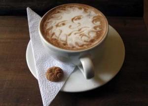 Cup of coffee Café Jesús Martín, Salento, Colombia