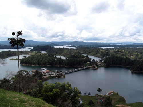 View from El Peñol